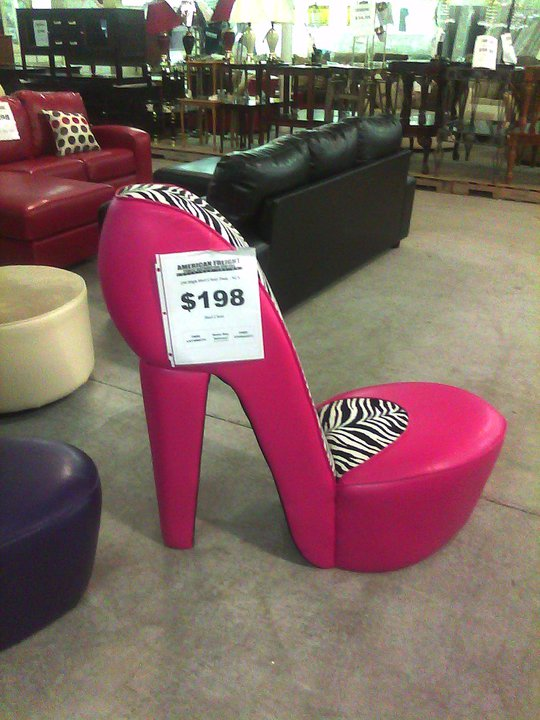 Be The Young Woman Who Lived In A Shoe Chair Thejerp