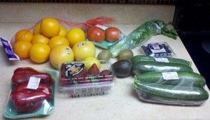 So much fresh produce for so little money!