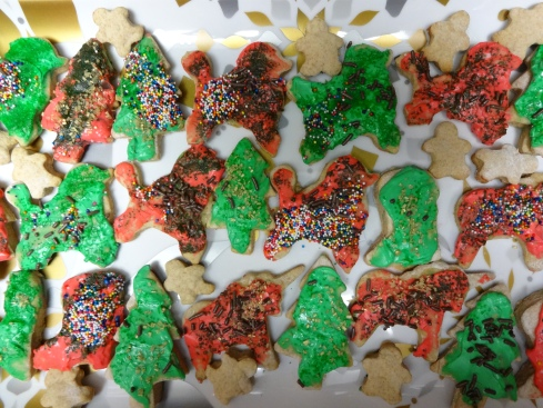 Mmm skinny Christmas poodles & unicorns with goat cheese frosting.