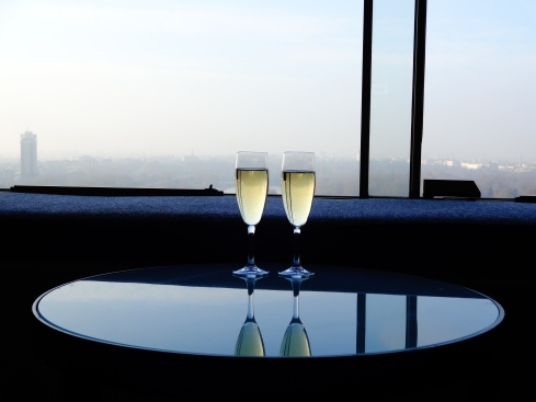 "If people give you honeymoon champagne, it's not polite to say ""No thanks, it's only noon."""