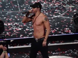 Welcome back to Pittsburgh, Donnie Wahlberg's abs!