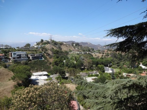 The great outdoors of the Hollywood Hills.